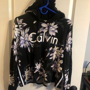 Cropped Calvin Klein Hoodie